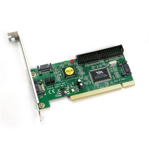 Adaptador PCI a 3 Sata + Ide