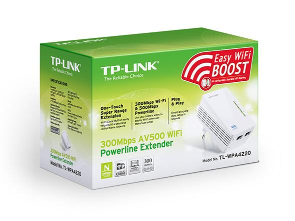Powerline Tl-wpa4220 Tp-Link