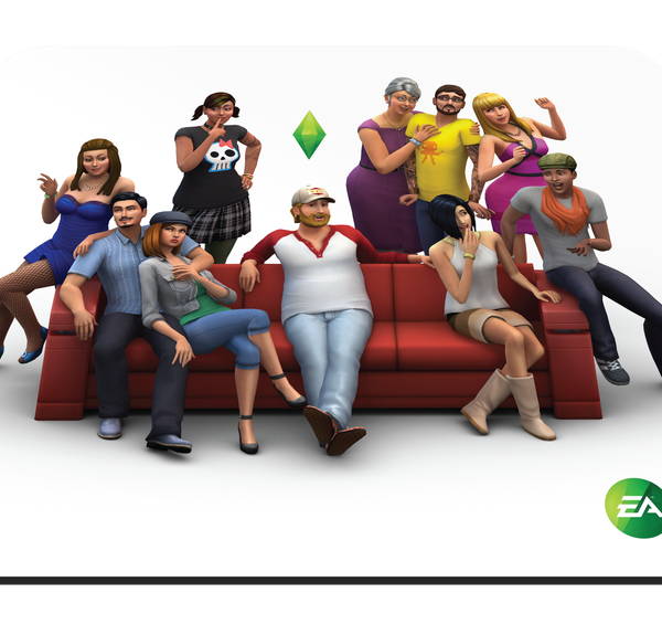 Mouse Pad Steel Series QcK Sims 4