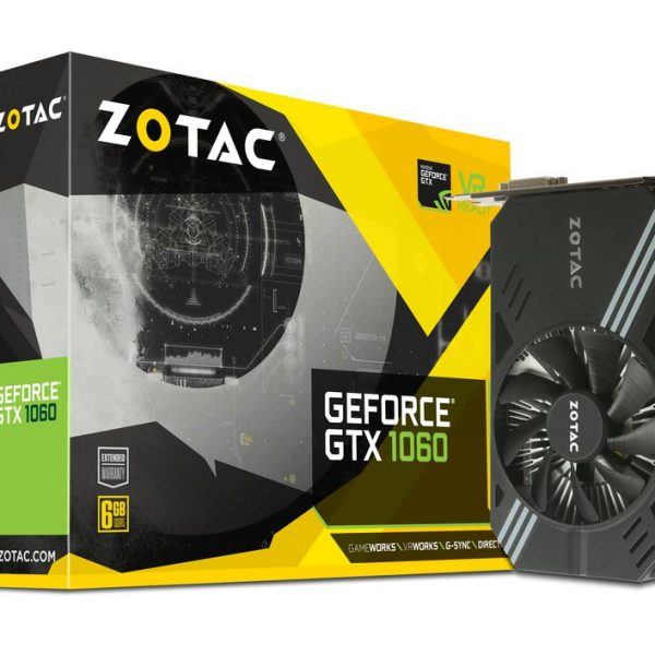 ZOTAC GeForce GTX1060 Mini 6gb gddr5