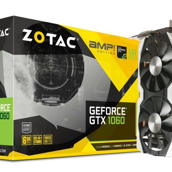 ZOTAC GeForce GTX1060 AMP! 6gb gddr5