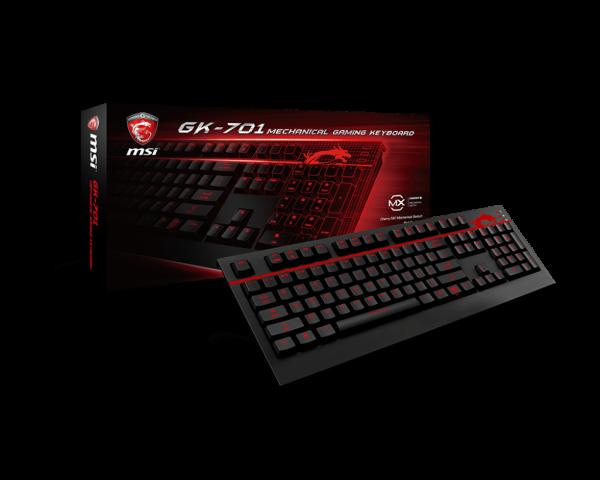Teclado MSI GK 701