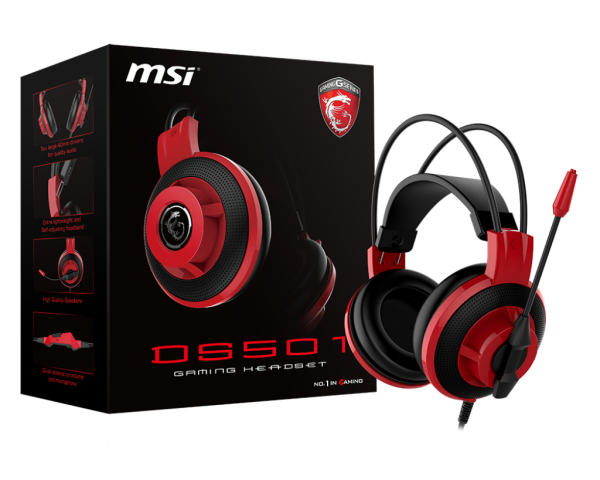 Auricular DS501 GAMING HEADSET