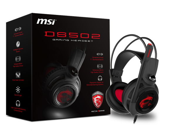 AURICULAR DS502 7.1 GAMING HEADSET