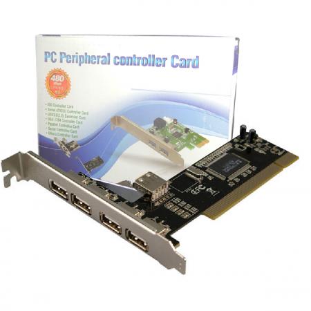 Tarjeta PCI – 4 USB 2.0