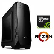 Equipo AMD Ryzen 5 1600 Full Gamer con GTX1060 6Gb