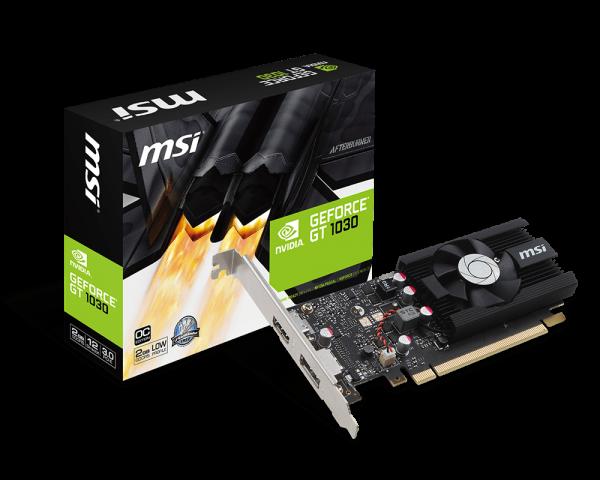MSI GeForce GT1030 2gb LP OC