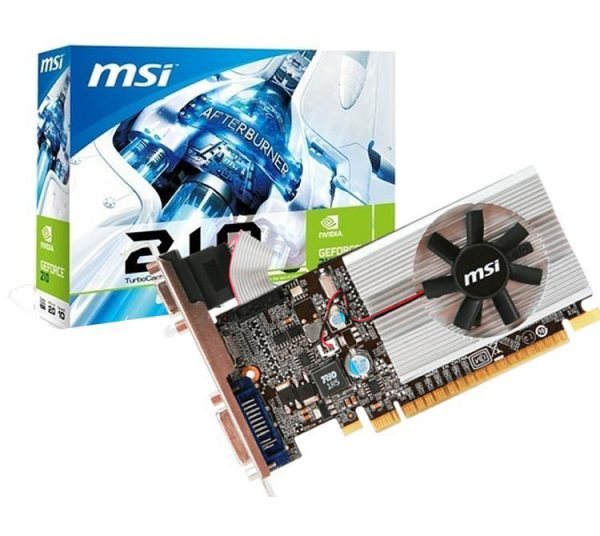 MSI GeForce G210 1Gb Ddr3 LP