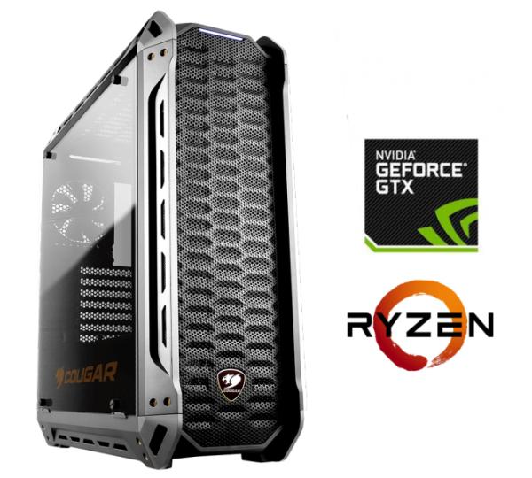 Equipo AMD Ryzen 7 1700X con GTX1080ti