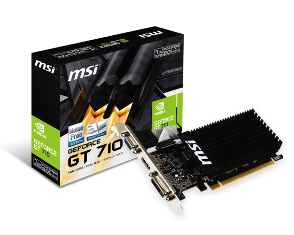 MSI GeForce GT710 LP 1gb gddr3