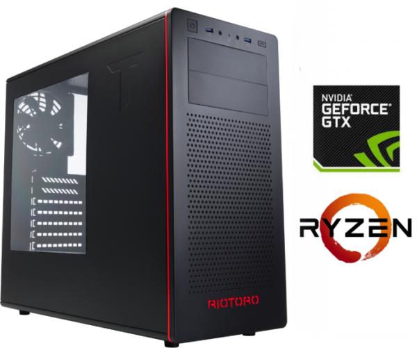 Equipo AMD Ryzen 7 2700 Full Gamer con GTX1070ti 8Gb DDR5