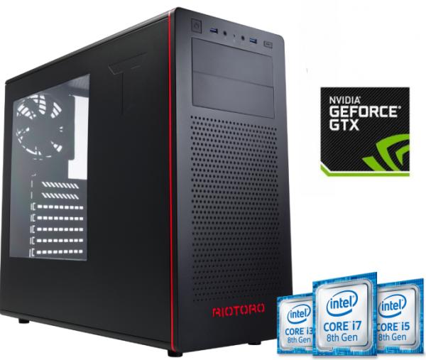 Equipo Intel Core I3 serie K Coffee Lake Full Gamer con GTX1060