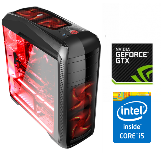 Equipo Intel Core I5 Gamer con GTX1050ti 4Gb