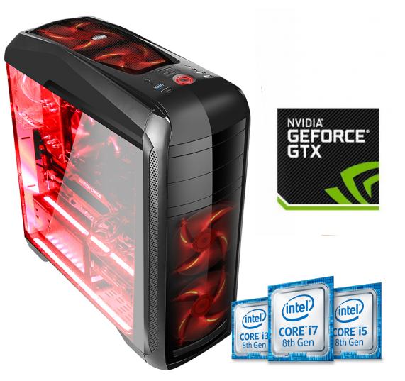 Equipo Intel Core I3 Coffee Lake Pro Gamer con GTX1060 3Gb