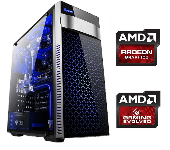 Equipo AMD 950K X4 Gamer con Radeon RX550 2Gb