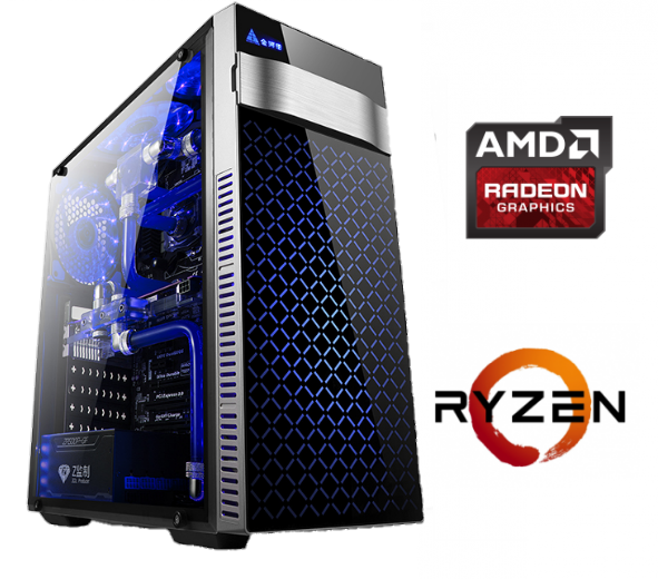 Equipo AMD Ryzen 3 2200G Gaming