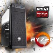 Equipo AMD Ryzen 5 2400 Full Gamer con RX580 4Gb
