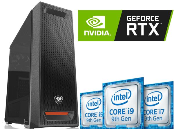 Equipo Intel Core I9 9900K 9na Gen con SSD – RTX2080 8Gb DDR6