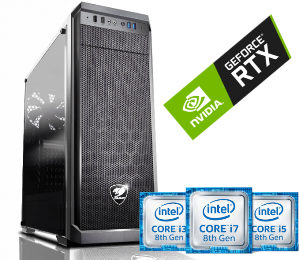 Equipo Intel Core I5 serie K Coffee Lake Full Gamer con SSD – RTX2060 6Gb