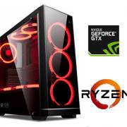 Equipo AMD Ryzen 5 2400 Pro Gamer con GTX1060 3Gb