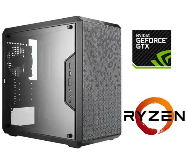 Equipo AMD Ryzen 3 2200 Pro Gamer – SSD – GTX1060 3Gb