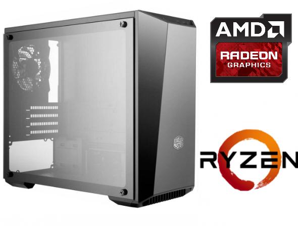 Equipo AMD Ryzen 3 2200 Pro Gamer – SSD – RX570 8Gb