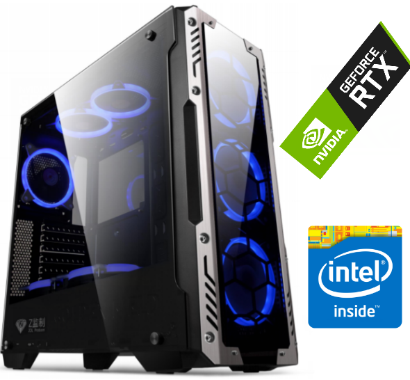 Equipo Intel Core I5 9400f – 16Gb 2666 – SSD – RTX2060